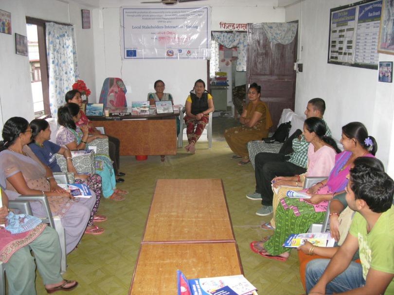 Post ODF program at Ilam Municipality