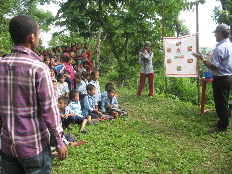 Total sanitation awareness program
